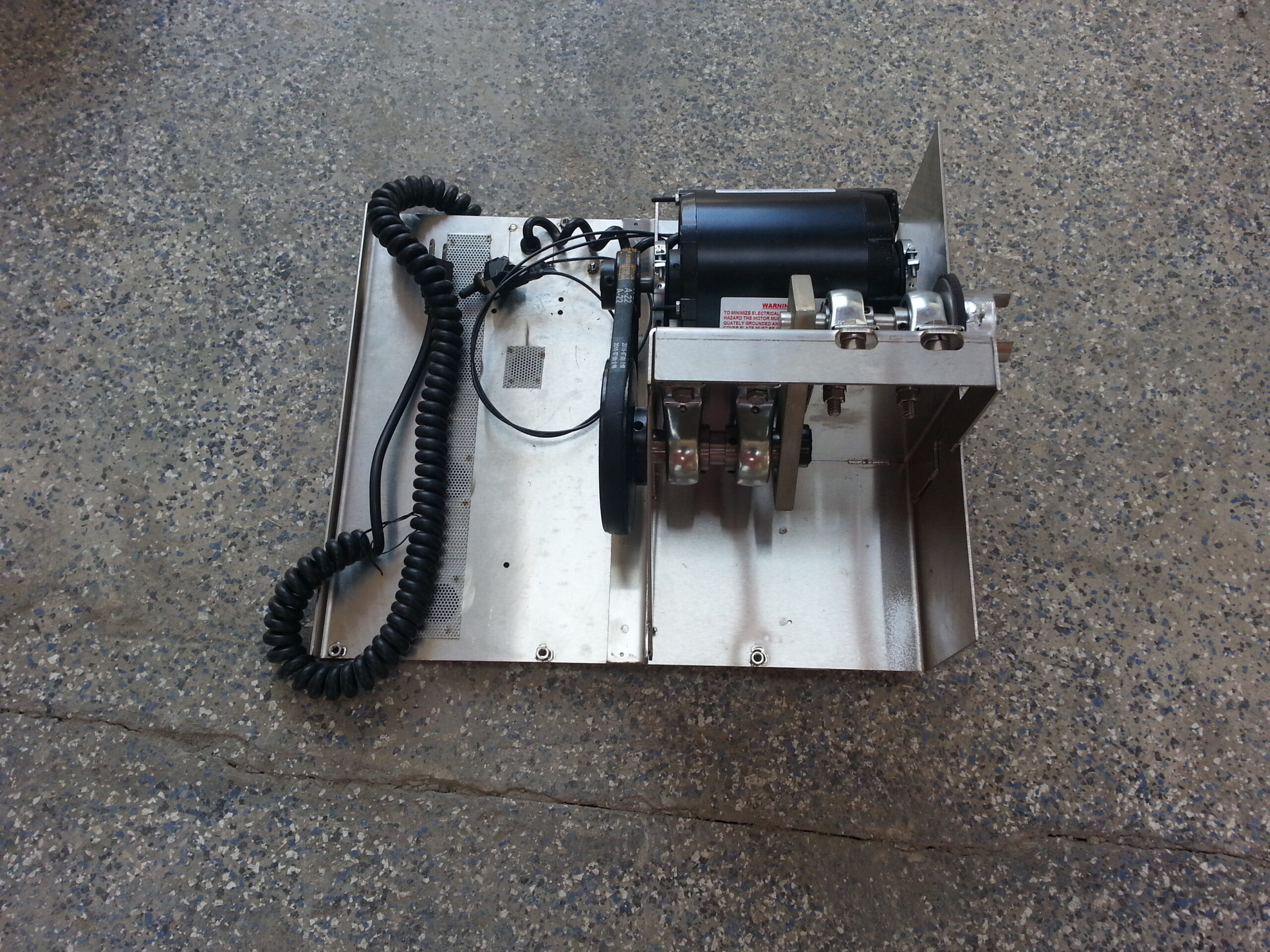 MOTOR PLATE ASSEMBLY - - INCLUDES ITEMS 4, 18, 20 - 49 #201233 Image