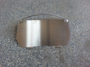 BAFFLE ASSEMBLY - - SIFTER (INCLUDES ITEMS 1, 2) #202413 Image