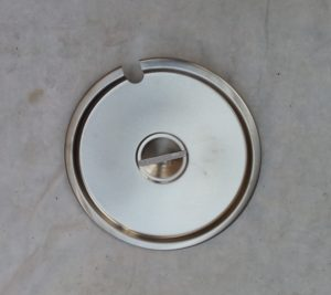COVER, 10.5 QT S/S INSERT CONTAINER #900229 Image
